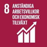 Anständiga arbetsvillkor och ekonomisk tillväxt - Globala målen